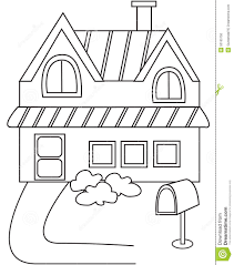 luxury coloring pictures of a house houses book acpra