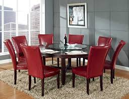 dining table set with lazy susan. steve silver hartford 72 inch round dining set with lazy susan at table d
