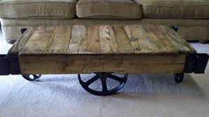 Mill Cart Coffee Table Black Rustic Coffee Table Resource Grass Industrial Rustic Coffee