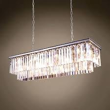 phenomenal restoration hardware chandelier crystal chain chandel
