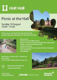 Picnic at the Hall - Sunday 19th August... - Holt Hall, Norfolk | Facebook