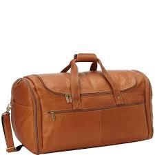 leather duffle bag david king co extra large multi pocket duffel bag