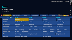 tv guide. a list will pop-out with the available tv guides . choose sports guide tv s