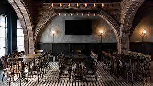 bar interiors design. Salón Sociedad Bar Brings Together Corporate Employees In Dark, Cosy Interior Interiors Design