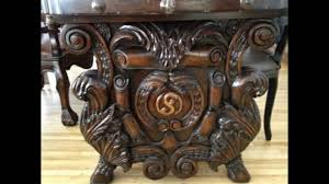 Wood And Wrought Iron Dining Tables Youtube