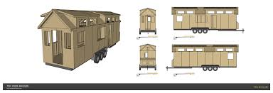 tiny house plan. A 32 Foot Version Of Our Popular Tiny Living Design. House Plan