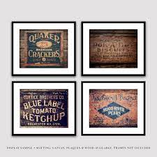 primitive country kitchen wall art