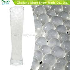 china new glitter crystal water storing gel beads vase filler for wedding party decorations china crystal soil water beads