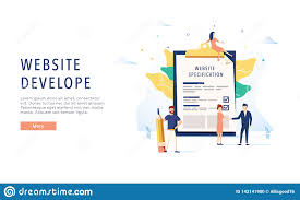 Web Design Specification Document Example The Design Of The Web Site Website Specification Web Banner