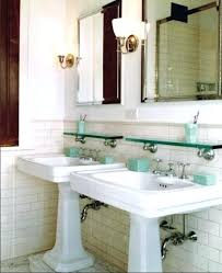 small pedestal bathroom sink elements of a vintage bath cove molding pedestal sink subway tile very small pedestal bathroom sink
