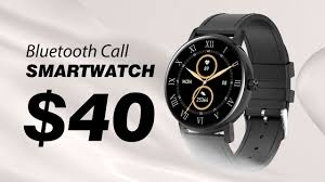 $40 Smartwatch That Can Make <b>Phone Calls</b>? - YouTube