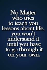 Quotes About Learning Lessons