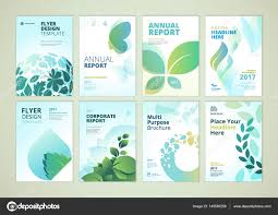 Nature And Healthcare Brochure Cover Design And Flyer Layout