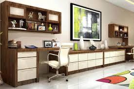 home office workstation. Wonderful Workstation Home Office With Custom Built In Filing Cabinets Simple Desks For U