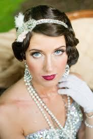 20s Hair Style 20 elegant art deco bridal hair & makeup ideas chic vintage brides 1258 by wearticles.com