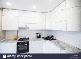 Kitchen Interior Stylish Coffee Maker Stock Photos Kitchen