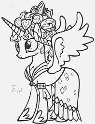 Coloriage Imprimer My Little Pony Princesse Cadance Coloriage