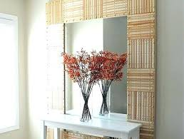 wall mirrors wall mirror frame diy mirror frame ideas the frame of this huge mirror