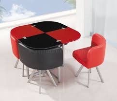 d536dt dining set 5pc in black red by global furniture usa black and red furniture
