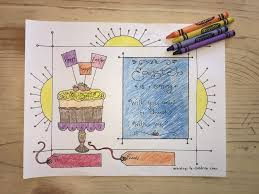 Easter Sunday Invitation Coloring Page Childrens Ministry Deals