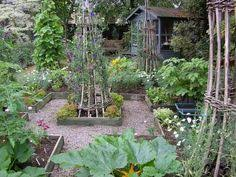 Small Picture How to design a potager vegetable and flower garden Potager