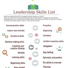 Leadership Skills Resume Fascinating Leadership Skills Resume Example ] Leadership Skills Resume Examples