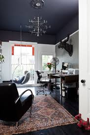 home office paint colors id 2968. Home Office Paint. Black Ceiling Gives The Room With High A Visually Cozier Ambiance [ Paint Colors Id 2968 O