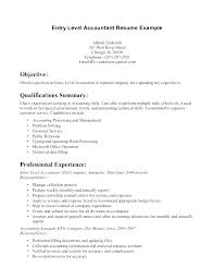 Writing Resume Samples New Example Accounting Resumes Accountants Resume Sample Staff