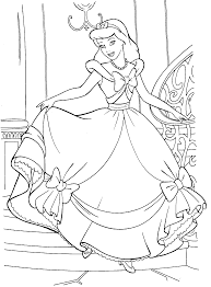 Small Picture Cinderella Coloring Pages Online Coloring Pages