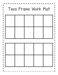 10 frame template ten frame template choice image template design ideas