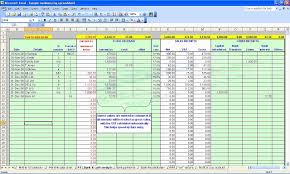 Business Tax Spreadsheet Templates Small Expense Tracking