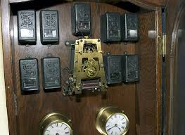 movements by the standard electric time co Simplex Clock Wiring movement and relays of a master clock capable of running up to 800 secondary clocks simplex wall clock wiring