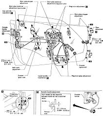 17 door assembly 1987 90 pulsar