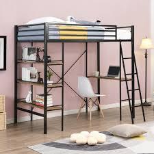 high sleeper loft bunk bed 4ft