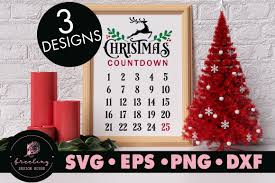 Download it for free and search more on clipartkey. Christmas Countdown Bundle Design Svg Graphic By Freelingdesignhouse Creative Fabrica