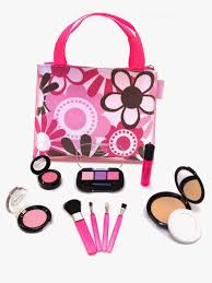 makeup kits for little girls. they also have super cute matching doll sets! little cosmetics sent us the essential set which retails for only $19.99. makeup kits girls p