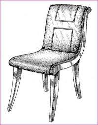 Simple Chair Drawing Simple Chair Drawing E Nongzico