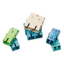 HellermannTyton - <b>Adapter</b>, <b>SC</b>/APC <b>Simplex</b>, <b>SM</b>, No Flange, Green