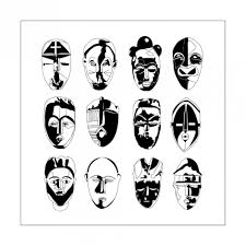 Small Picture Africa Coloring pages for adults coloring adult africa 9 masks