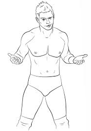 Jeff Hardy Coloring Pages Love Wwe Outline Free Printable Coloring