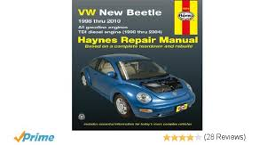 vw new beetle 1998 thru 2010 all gasoline engines tdi diesel vw new beetle 1998 thru 2010 all gasoline engines tdi diesel engine 1998 thru 2004 haynes repair manual ken freund 9781563929946 amazon com books