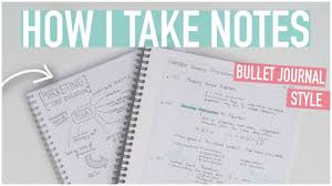 How To Take The Best Notes Bullet Journal Style Digital More