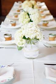 Mason Jar Table Decorations Wedding Mason Jar Wedding Centerpiece Elizabeth Anne Designs The 17