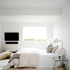 all white tones wire metal furniture small bedroom decorating ideas