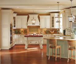 Off white kitchens Crushed Ice Melbourne Off White Cabinets In Oyster Finish With Caramel Glaze In Traditional Kitchen Masterbrand Cabinets Off White Cabinets With Glaze In Traditional Kitchen Masterbrand
