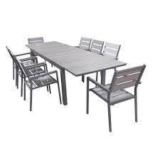 Ensemble table et fauteuil de jardin - Maison mobilier et design