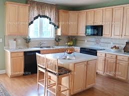 Maple Kitchen Furniture The Best Kitchen Wall Color For Oak Cabinets Kelly Bernier Designs
