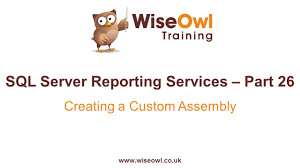 Reporting Services  SSRS  Part      Creating a Custom Assembly     Reporting Services  SSRS  Part      Creating a Custom Assembly   YouTube