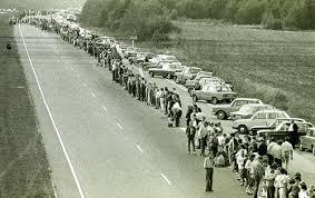 voie balte le 23 aout 1989