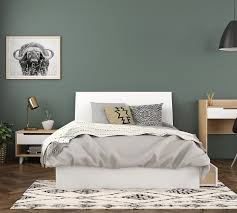 Radiance 3-Piece Full Bedroom Set, Natural Maple and White
